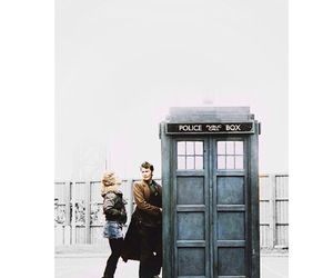 billie, rose, and tardis image