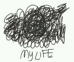 life and my life image
