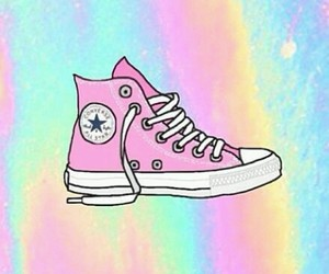 converse, wallpaper, and shoes image