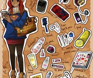 art, bag, and cool image
