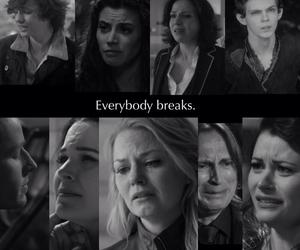 break, sad, and broken image