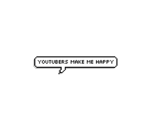 happy, smile, and youtubers image