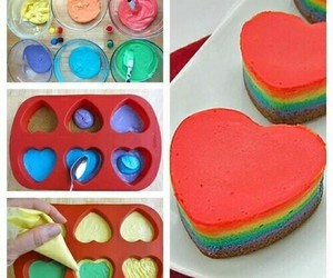 diy, heart, and rainbow image