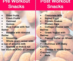 pre workout nutrition and post workout nutrition image
