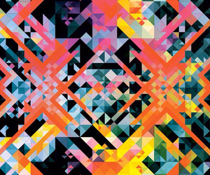 abstract, bold, and geometric image