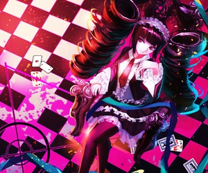 anime, celestia, and danganronpa image