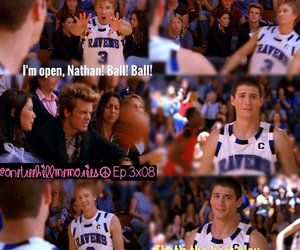 Basketball, funny, and lucas scott image