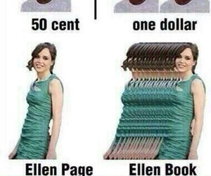 ellen page, funny, and lol image