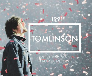 edit, 1d, and louis tomlinson image