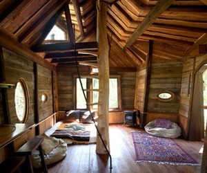 interior, home, and wood image