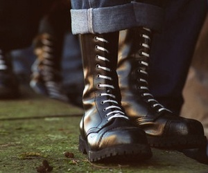 boots, skinhead, and skinheads image
