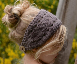 hairstyle, headband, and winter image