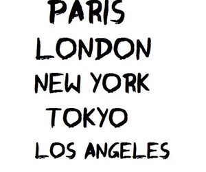 city, london, and los angeles image