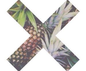 pineapple, summer, and x image