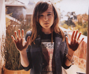 ellen page, hands, and actress image