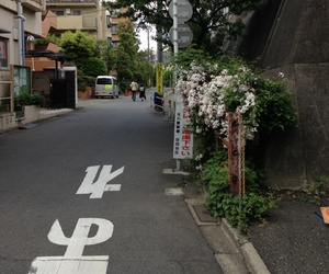 japan, street, and pale image
