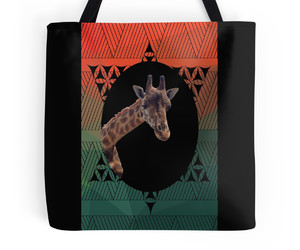 bags, giraffe, and lines image