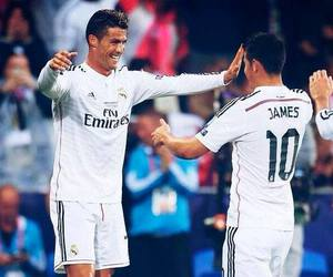 <3, james, and cr7 image