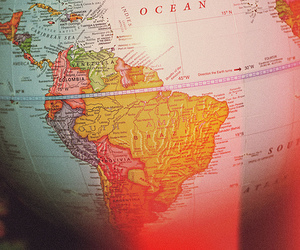 brazil, globe, and indie image