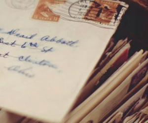 memories, envelope, and Letter image