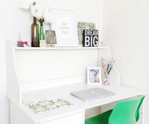 bedroom, desktop, and green image