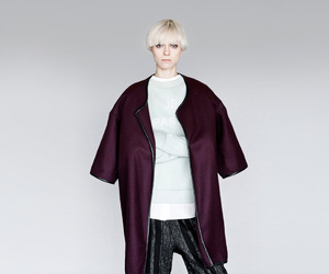 fashion, girl, and look book image