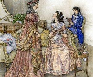 19th century, art, and elizabeth bennet image