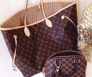 bag, luxury, and LV image