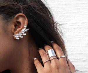 accessories, earings, and fashion image