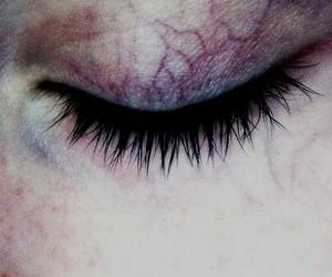 eye, veins, and eyes image