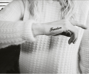 black ink, tattoo, and iwant image