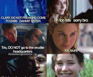divergent, clary, and four image