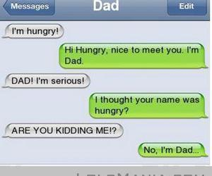 lol, funny, and dad image