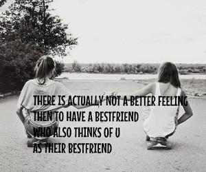 best friend, friendship, and quote image