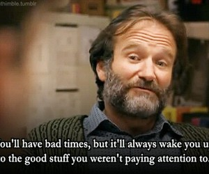 robin williams, life, and quotes image
