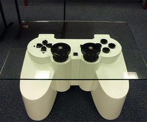 playstation and table image