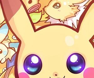 pikachu, pokemon, and electric image