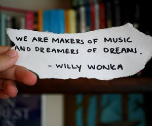 Dream, music, and quote image