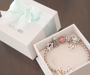 girl, love, and bracelet image