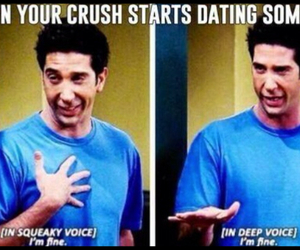 friends, funny, and crush image