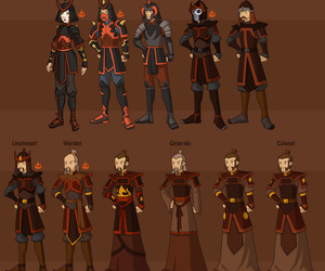 avatar and fire nation military image