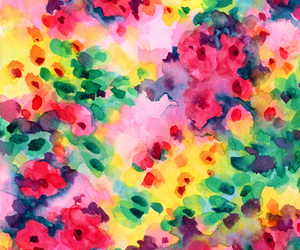 bright, floral, and wallpaper image