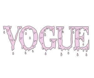vogue, pink, and transparent image