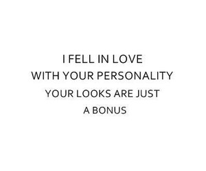 love, looks, and personality image