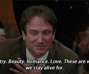 robin williams, romance, and quotes image