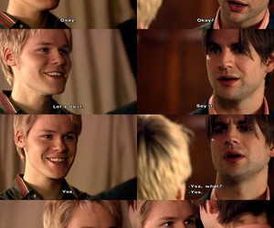 gay, heart, and brian kinney image