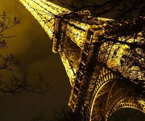 eiffel, forever, and night image