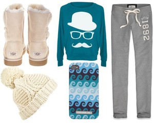 clothes, outfit, and uggs image