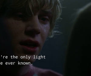 violet, ahs, and tate image
