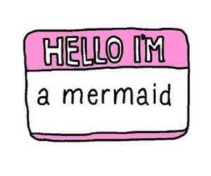 mermaid, tumblr, and hello image